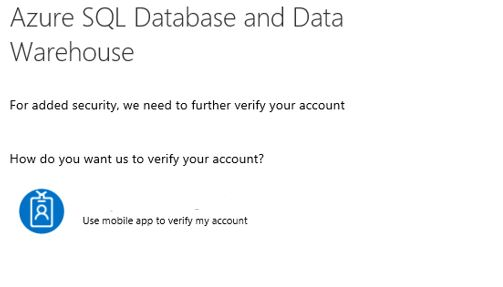 SSMS and MFA support for Azure SQL DB - SQLServerCentral