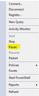 PauseSQl